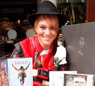 Michael Jackson fan Celeste Dixon