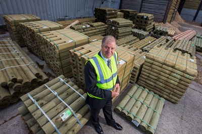 Clifford Jones Timber, Ruthin. Alan Jones, chairman